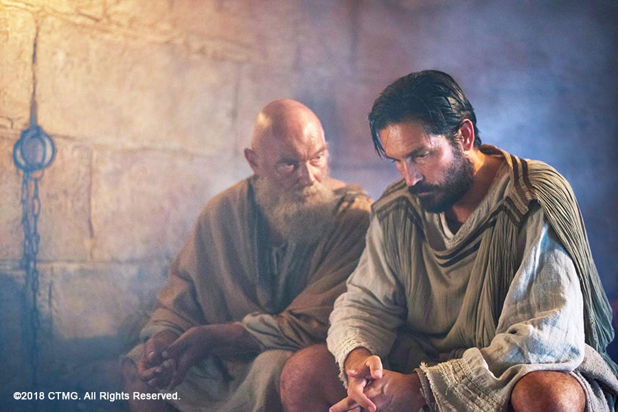 Apostle Paul & Luke the Physician (James Faulkner & Jim Caviezel)